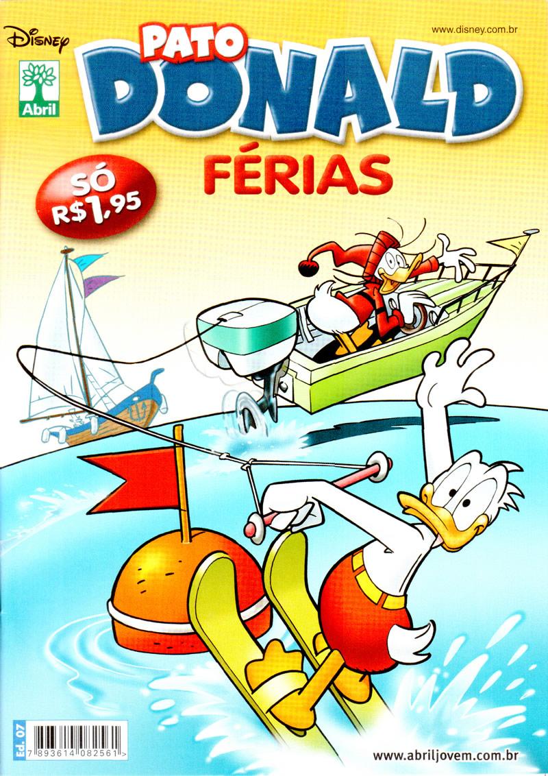 Pato Donald Férias #7 [Dezembro/2011] - Prévia em scans na pág 01 PDF0707