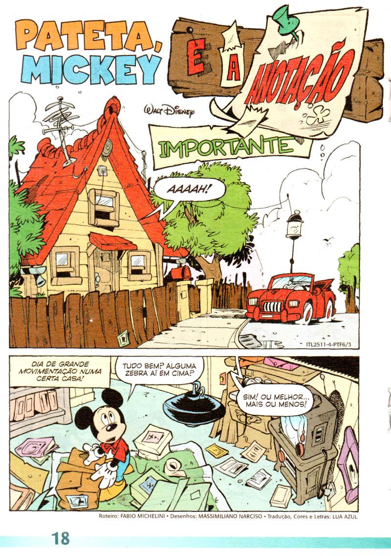 Pateta Férias #6 [Dezembro/2011] - Prévia em scans na pág. 01 PTF0605