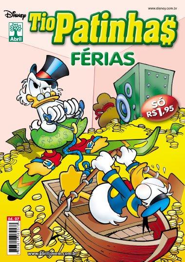 Tio Patinhas Férias #7 [Dezembro/2011] - Prévia em scans na pág. 02 TPF07
