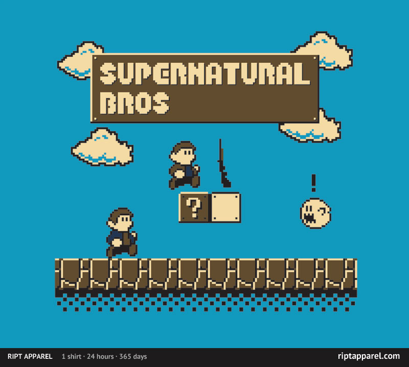 Photo of Camisa do dia: Supernatural Bros!