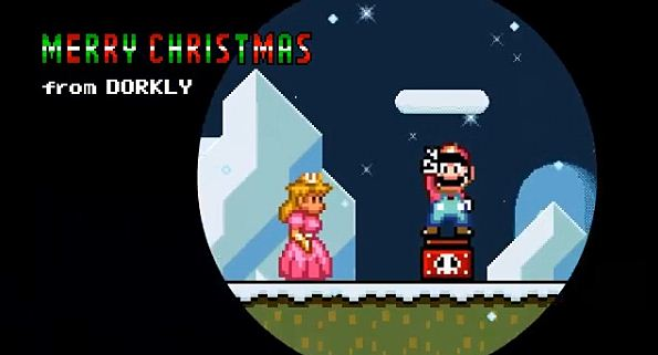 Photo of Dorkly Bits: A noite antes do natal do Mario!