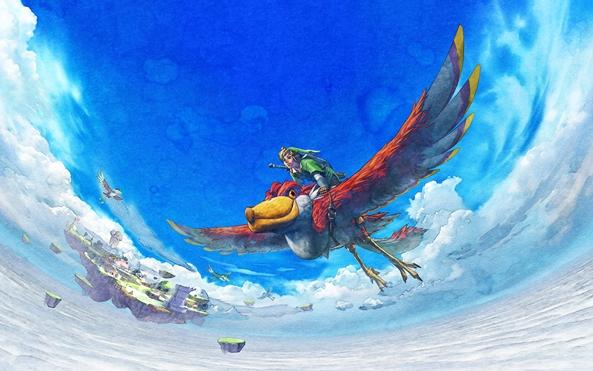 Photo of Wallpaper do dia: Zelda Skyward Sword!