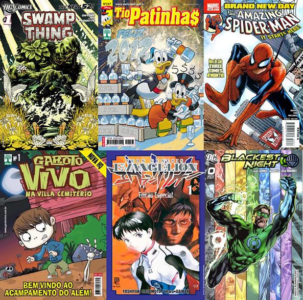 Photo of Leitura de quadrinhos em atraso – Semana 2