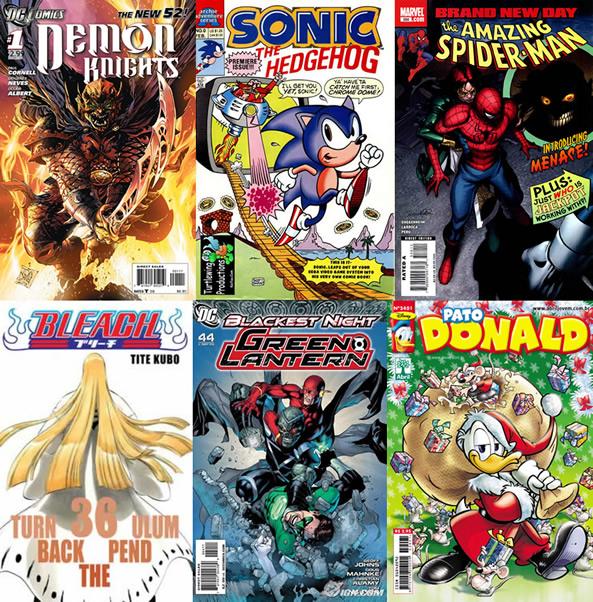 Photo of Leitura de quadrinhos em atraso – Semana 3