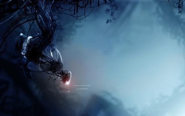 Photo of Wallpaper do dia: Portal 2!