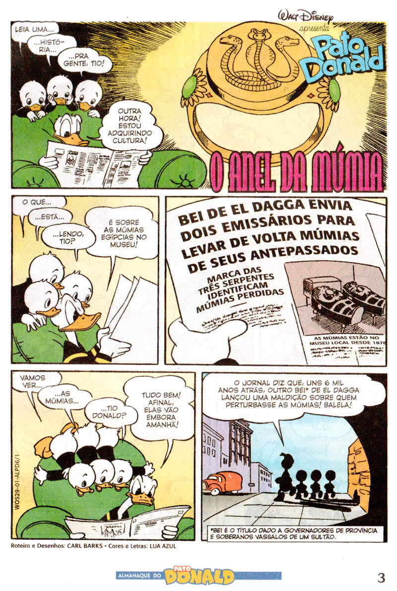Photo of Prévia: Almanaque do Pato Donald nº 6 – Fev/12