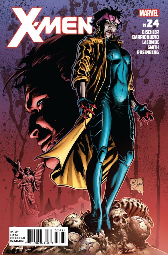 Desenhando a capa de X-Men #24