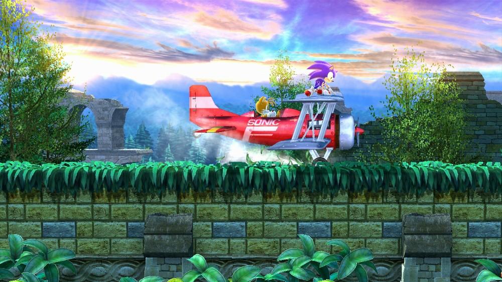 s41 As primeiras telas do episódio II de Sonic 4