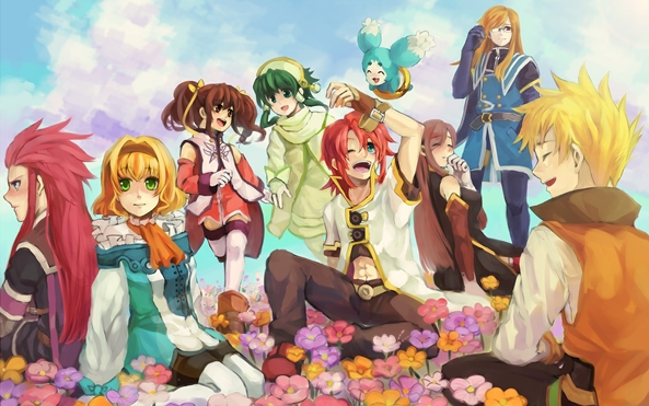 Photo of Wallpaper do dia: Tales of the Abyss!