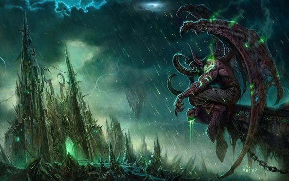 59332 Wallpaper de ontem: World of Warcraft!