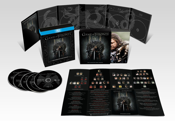 Box Bluray Game of Thrones