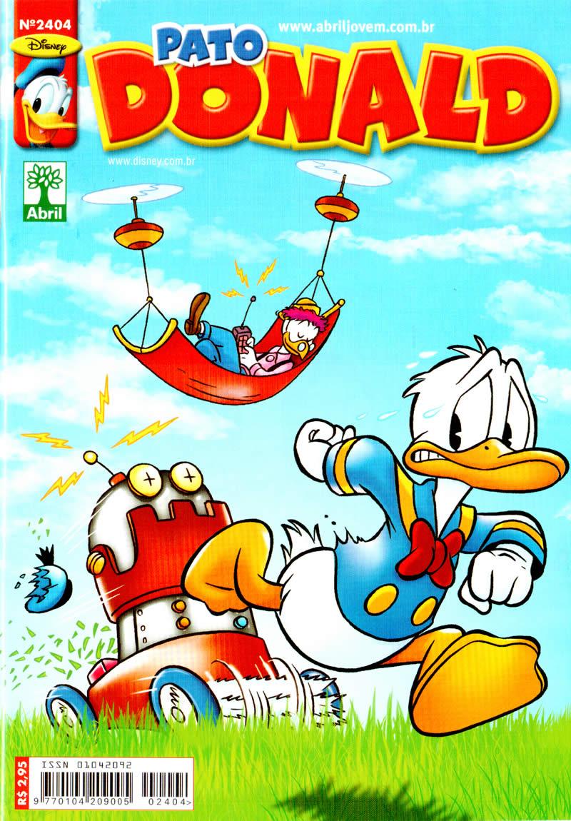 Pato Donald nº 2404 (Março/2012) (c/prévia) PD240400