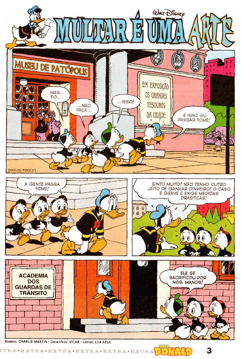 Pato Donald Extra nº 07 (Fevereiro/2012) (c/prévia) PDEX0701
