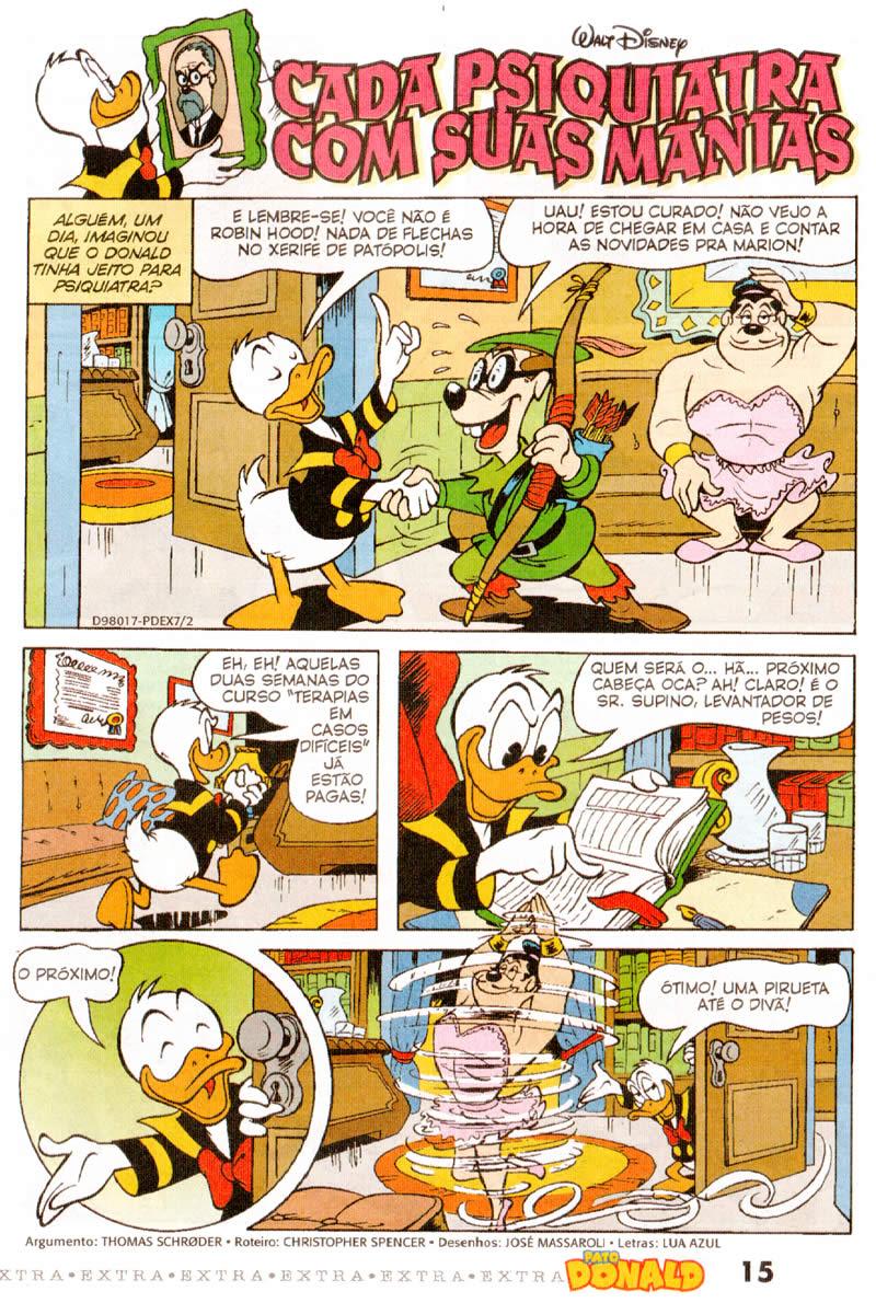 Pato Donald Extra nº 07 (Fevereiro/2012) (c/prévia) PDEX0703