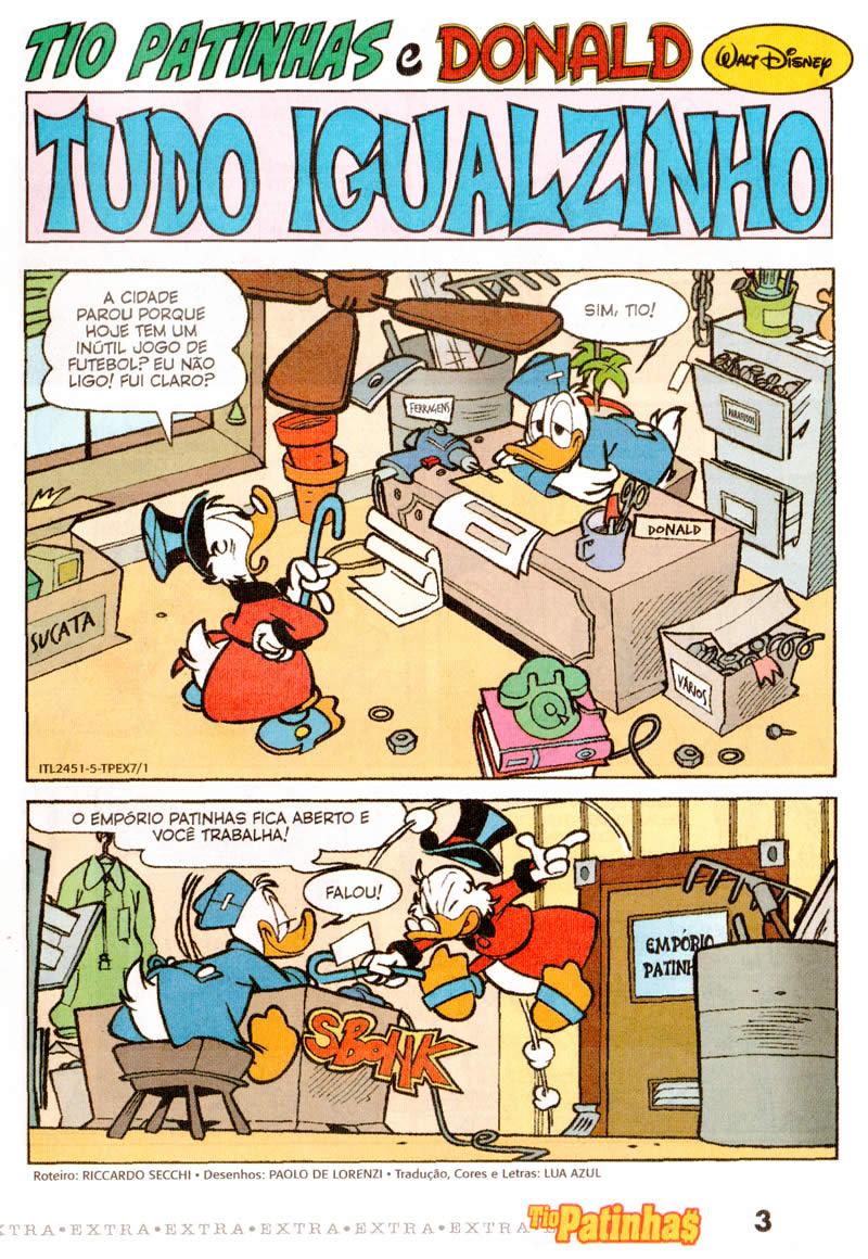 Tio Patinhas Extra nº 07 (Fevereiro/2012) (c/prévia) TPEX0701