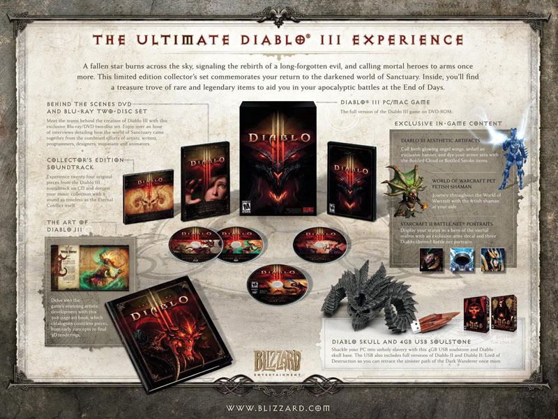 Photo of FINALMENTE! Data de lançamento de Diablo III