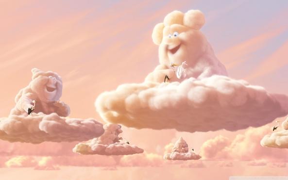 59313 Wallpaper do dia: Partly Cloudy!