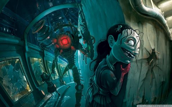 Photo of Wallpaper do dia: BioShock 2!