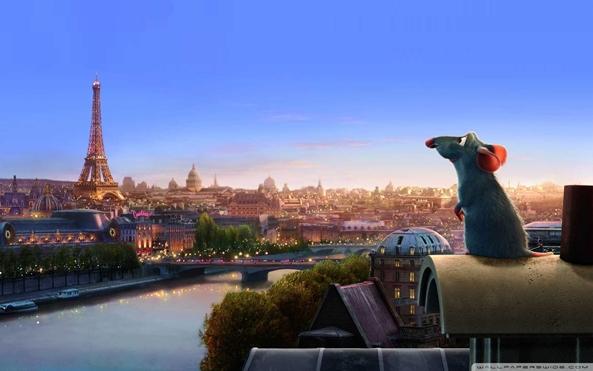 Photo of Wallpaper do dia: Ratatouille!