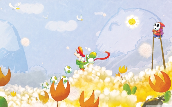 Photo of Wallpaper do dia: Super Mario World 2!