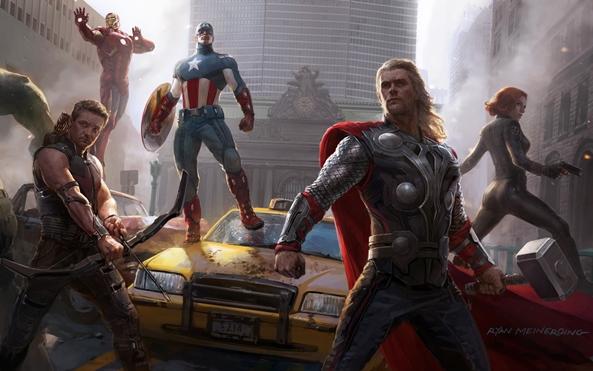 Photo of Wallpaper do dia: The Avengers!