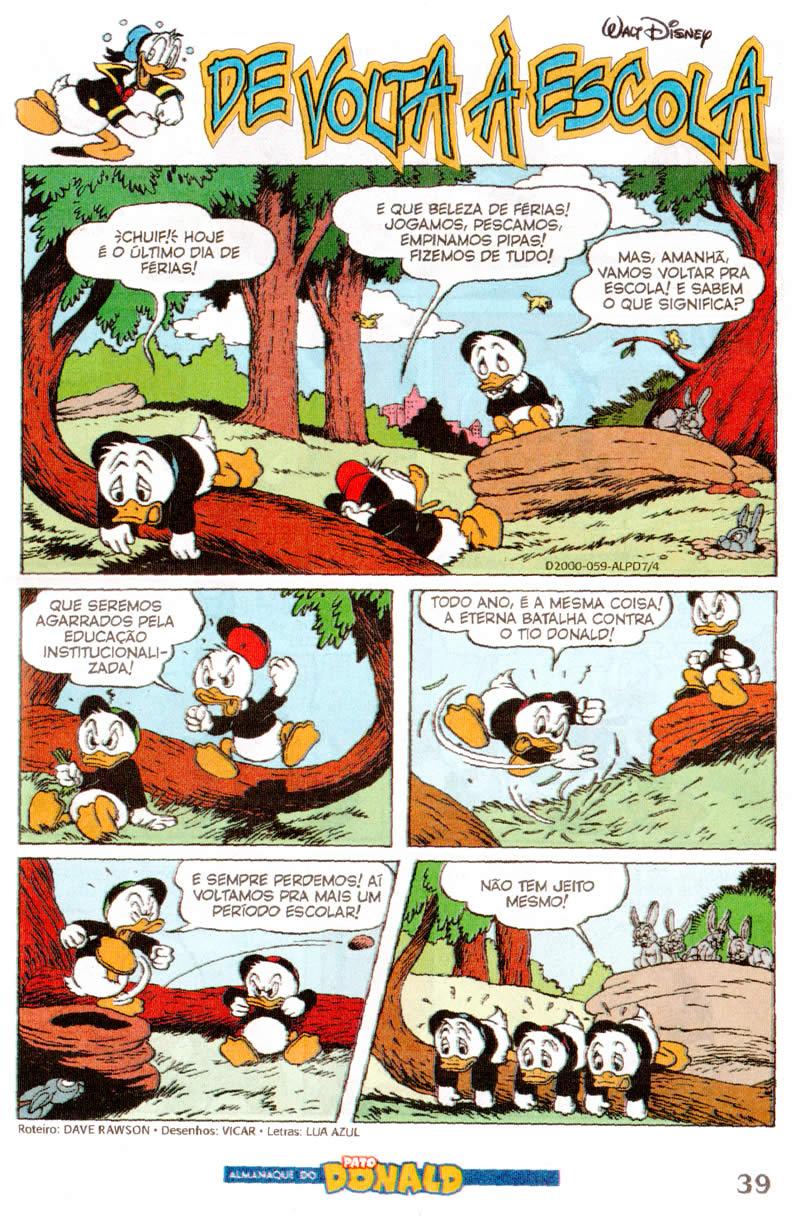 Almanaque do Pato Donald nº 07 (Abril/2012) (c/prévia) ALPD0707
