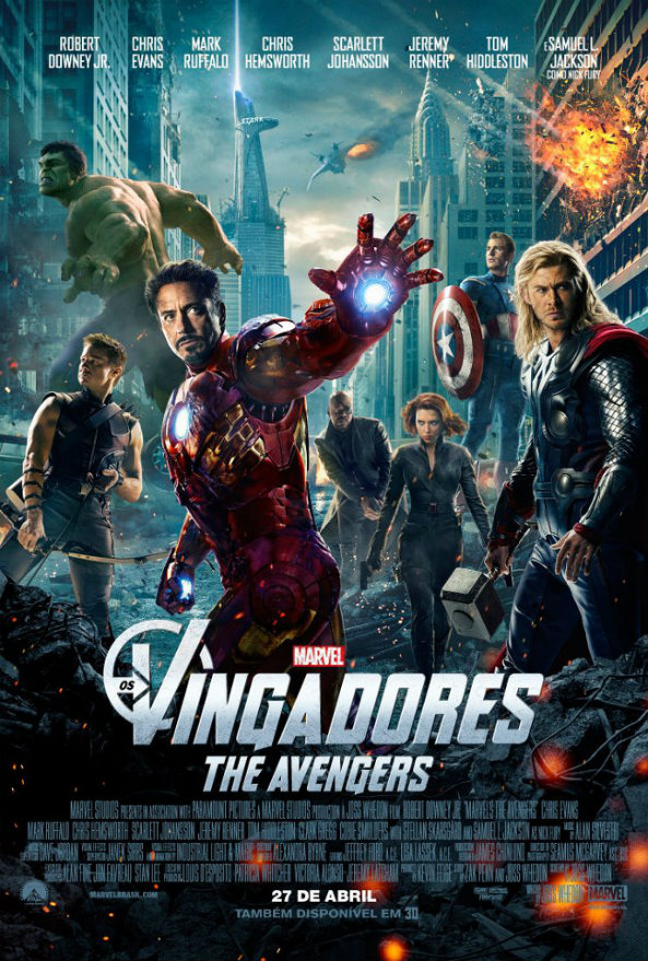Photo of Os Vingadores – Eu fui!