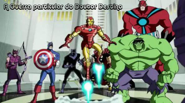avgs2e1 A nova temporada de Vingadores começou!