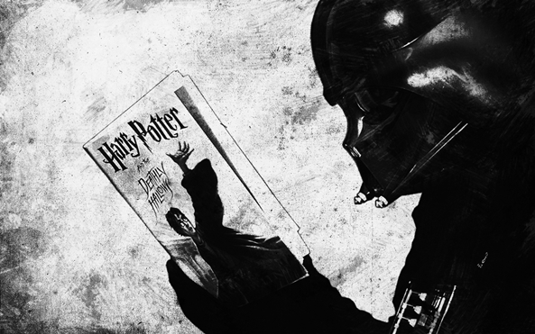 Photo of Wallpaper de ontem: Star Wars! (… HP?)
