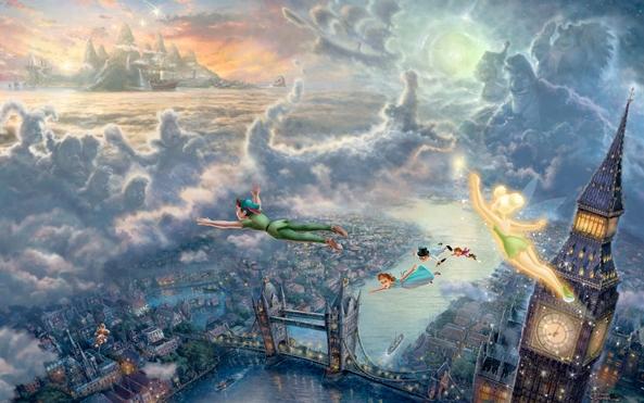 Photo of Wallpaper de ontem: Peter Pan!