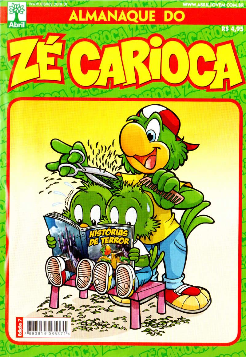 Almanaque do Zé Carioca nº 07 (Abril/2012) (c/prévia) ALZC0700