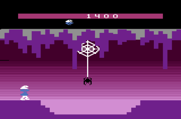 Photo of Mauri a 88mph #1: Smurf (Atari 2600)!