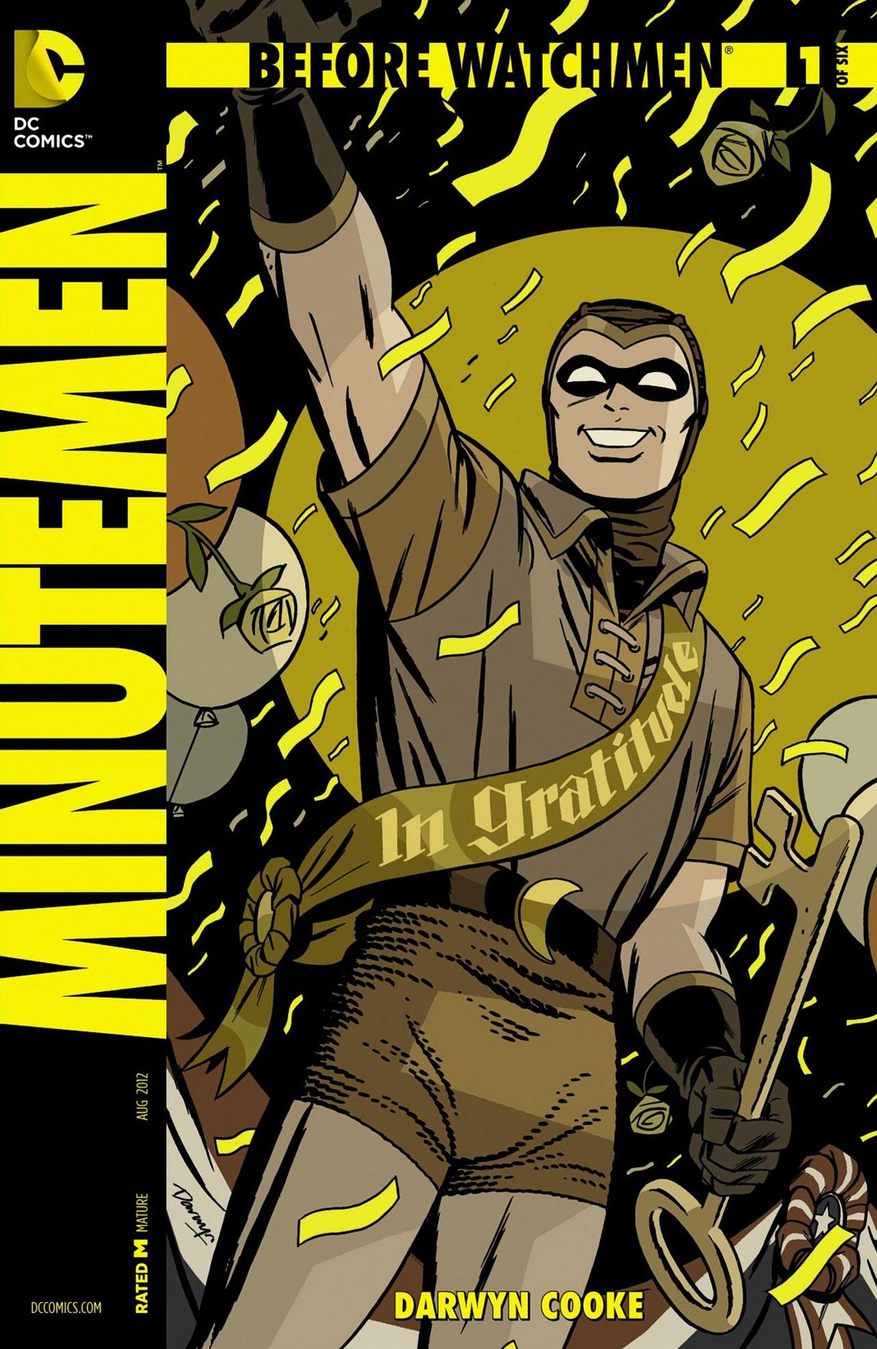 Photo of Minutemen #1 e Before Watchmen se inicia!