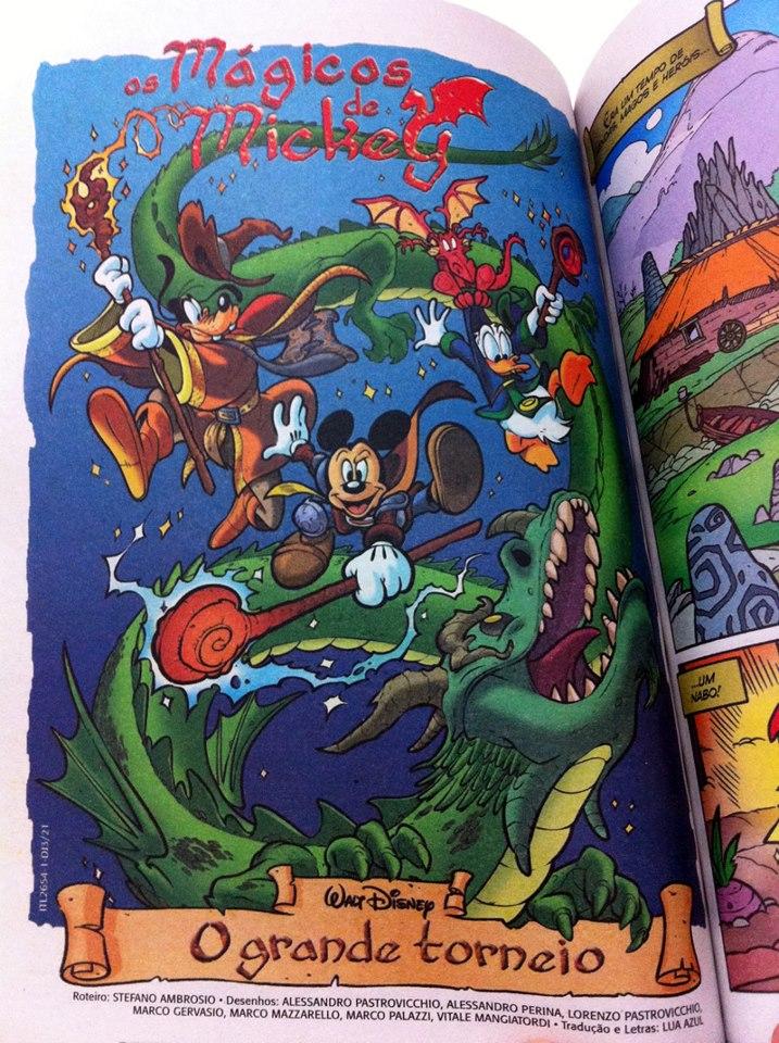 Photo of Galeria: 500 páginas e Os Mágicos de Mickey!
