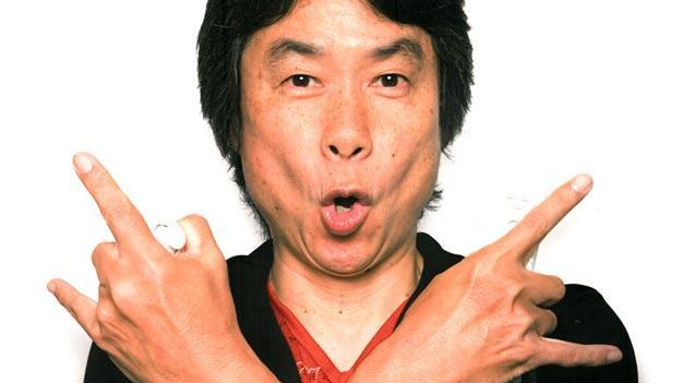 Photo of Shigeru Miyamoto e o Videogame