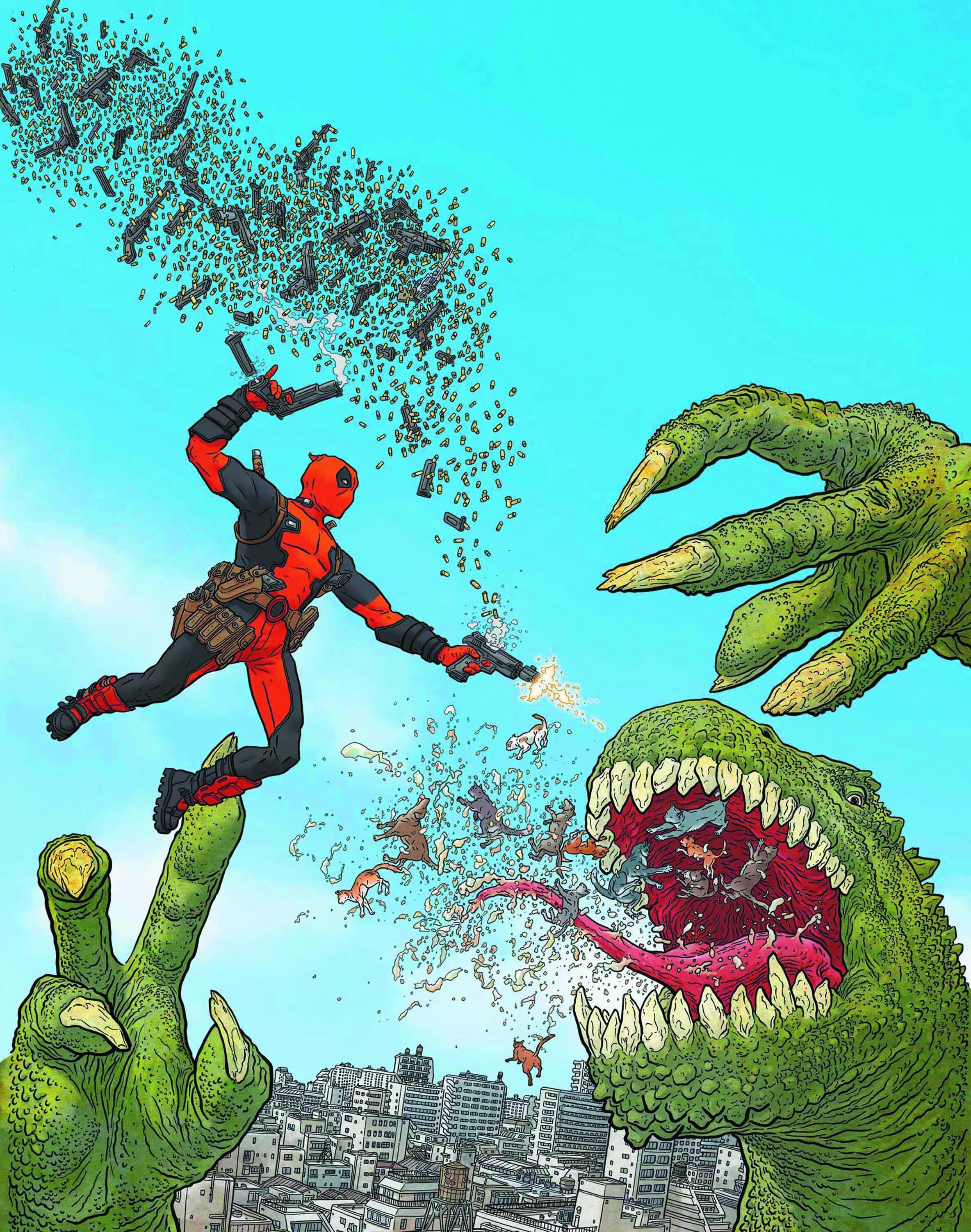 Photo of Chamichangas! Deadpool NOW!