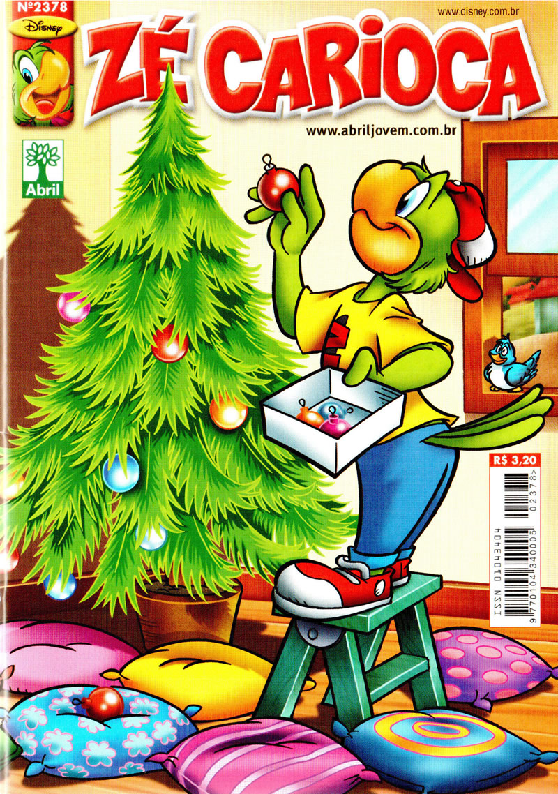 Zé Carioca n° 2378 (Dezembro/2012) (c/prévia) ZC237800