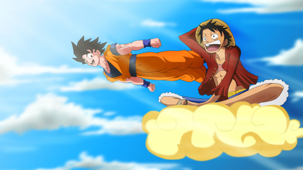 luffy_and_goku_by_ala2007-d4s5a1c