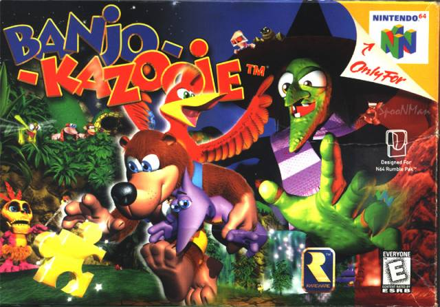 Photo of Nostalgia Nintendo 64 #01 – Banjo e Kazooie