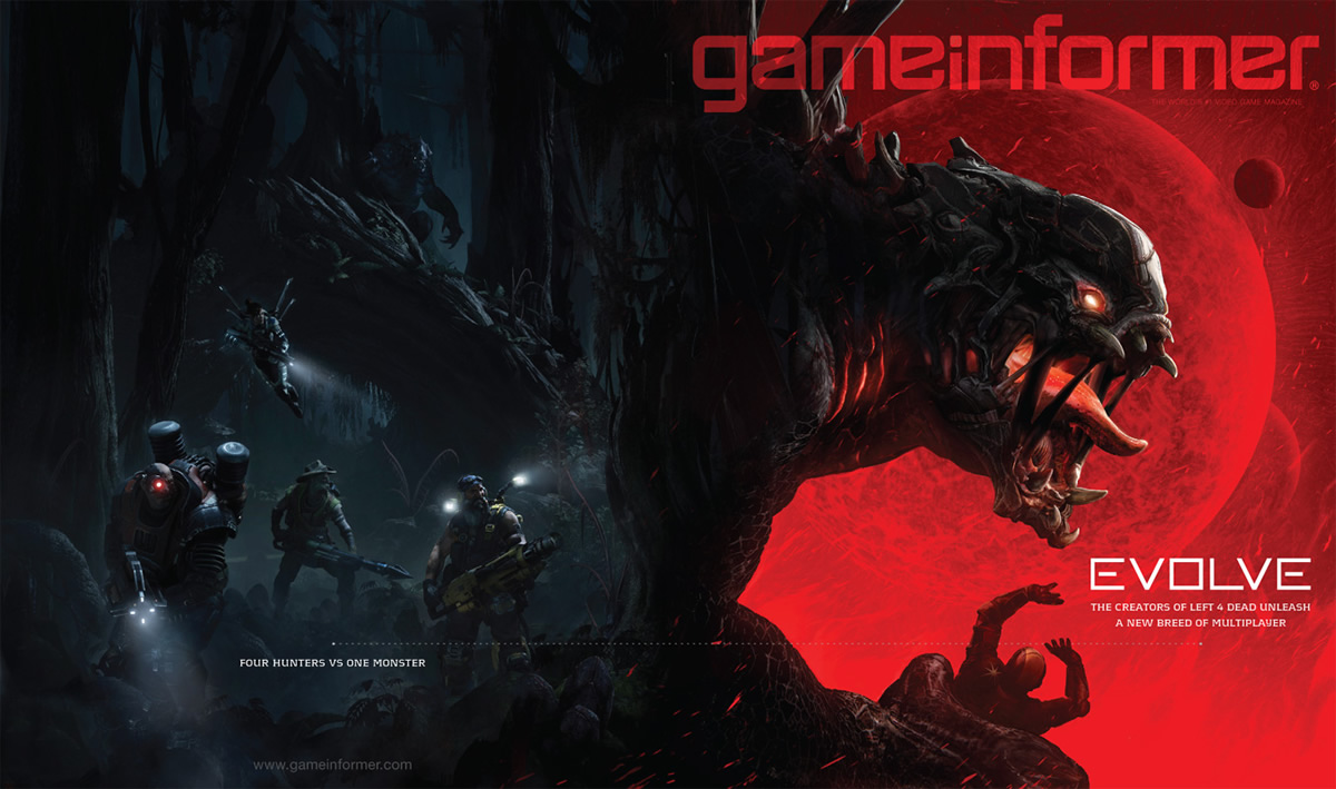 Photo of Game Informer revela Evolve!