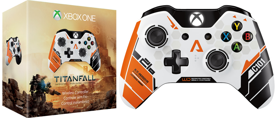 Photo of Uma amostra do Xbox One Titanfall L. E. Wireless Controller!