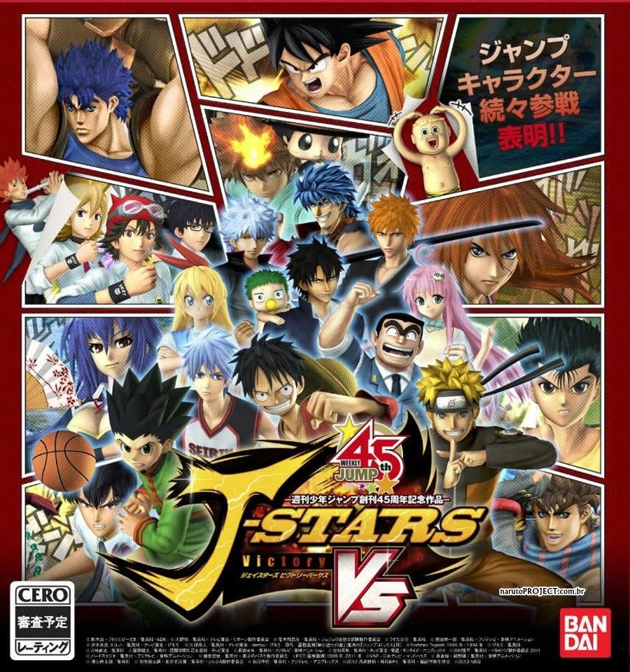 J-Stars Victory Vs chega ao Japão em março!