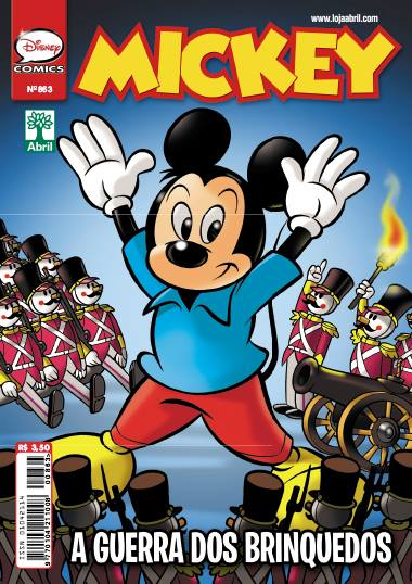 Mickey 863 Capa