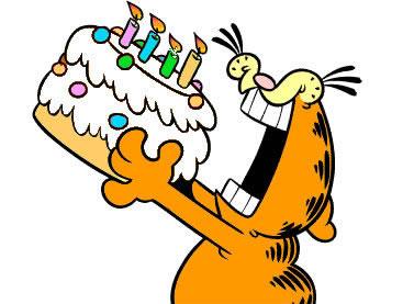 Garfield Aniversario