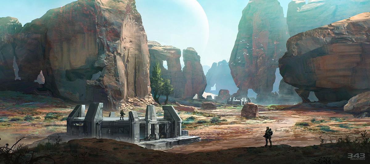 Halo 2 Anniversary Arte Conceitual 2