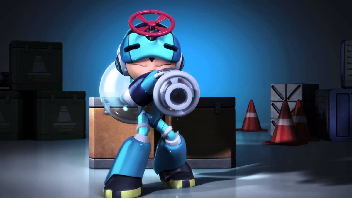 Mighty No. 9 Animated CG