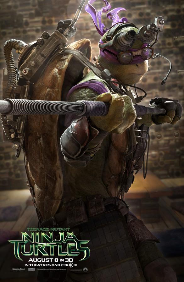 Tartarugas Ninjas 2014 - Donatello