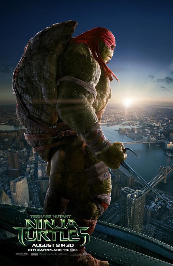 Tartarugas Ninjas 2014 - Raphael