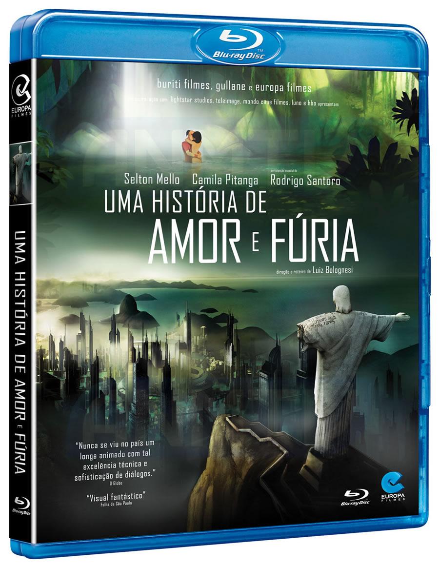 Uma-História-de-Amor-e-Fúria Blu-Ray