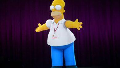 Photo of Já estamos nesse nível? Homer Holograma na Comic-Con 2014!